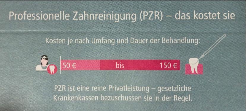 PZR - Kosten